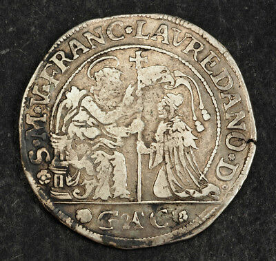 1752, Doges Venice, Francesco Loredan. Beautiful Silver Ducato Coin. VF-aXF!