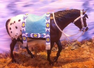 Beaded Saddle Blanket Fits Breyer Indian Pony