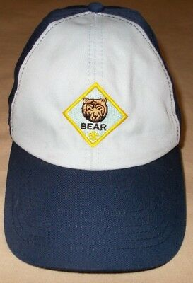 Bsa Boy Scout Cub Scout Official Bear Cap Hat