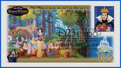 Disney Villains First Day Cover 2017 Snow White and the Seven Dwarfs #012