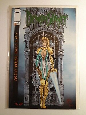 Demonslayer Into Hell #1 of 3 - Emerald Foil - Image - 2000 - First Printing