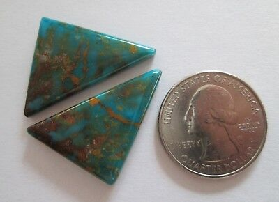 32.60 cts. of Stabilized Kingman, AZ Turquoise Cabochon Gemstones, # FC 030