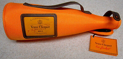 NEW WOT VEUVE CLICQUOT Champagne Travel Ice Bucket Sleeve Made In France NICE!