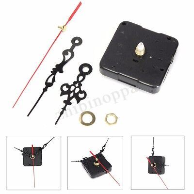 Wall Quiet Mute Hand Quartz Clock Movement Mechanism DIY Repair Tool Parts Kit G