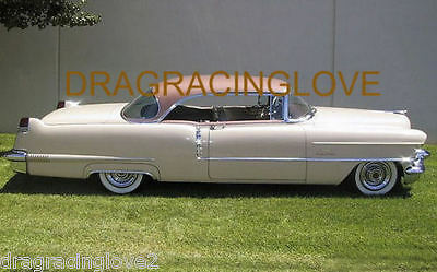 1956 Cadillac Coupe DeVille Classic American Car 8x10 GLOSSY PHOTO!