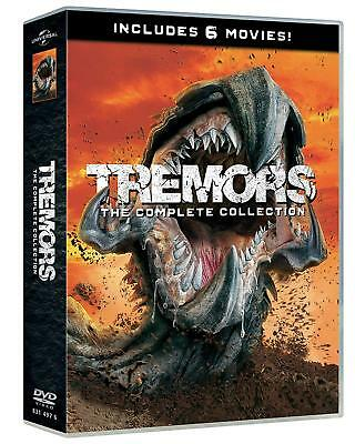 Dvd Tremors 1-6 Collection (6 Dvd)