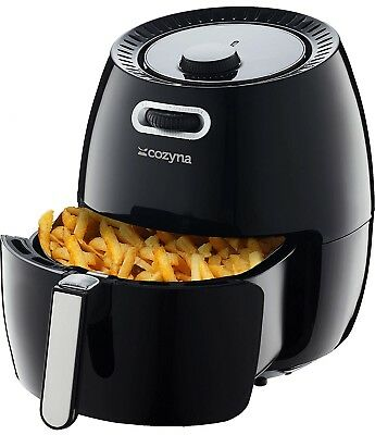 COZYNA EXTRA LARGE Air Fryer 5.8QT Intuitive Temperature,Time Controls Cookbook