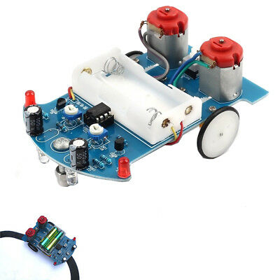Smart Car Tracking Motor Track Line Robot Car DIY Kit Ultrasonic For Arduino MCU
