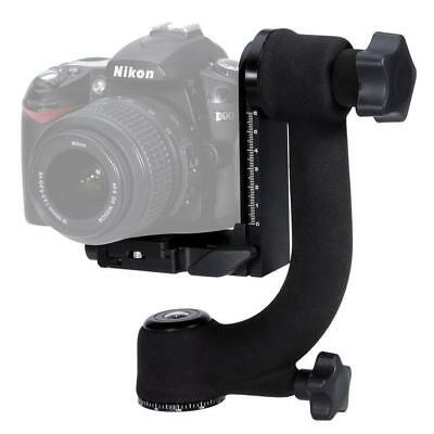 Heavy Duty 360 Swivel Gimbal Ballhead Tripod Metal Quick Release For Camera DSLR