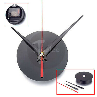 Round Acrylic Quartz Wall Clock Movement Mechanism Motor Repair Kit w/3 Hands