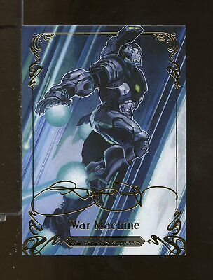 2018 Upper Deck Marvel Masterpieces TIER 3 Gold Foil Signature CARNAGE #79