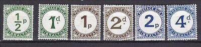 GIBRALTAR POSTAGE DUES (ref 33) MOUNTED MINT