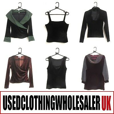 35 Women's Mixed Velvet Tops Wholesale Vintage Clothing Modern Fashion