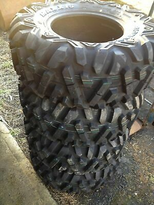 Maxxis Bighorn  Atv Tyres 25 X 10 X 12   One Pair  6Ply   Grizzly