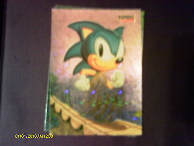 """1993 Topps. """"Sonic The Hedgehog"""" Prism Insert Card #3"""