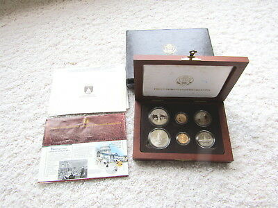 1989 Congressional US Mint Commemorative Six Coin Set (Gold and Silver) PR & UNC