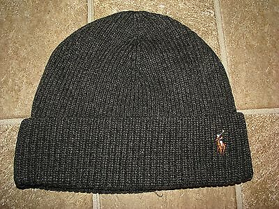 POLO RALPH LAUREN - Bonnet - Beanie - Laine Wool - Men - Red Indian ... d68d1664f4b