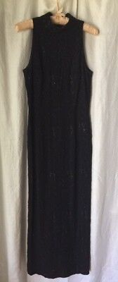 Marie St. Claire Black Sleeveless Formal ~ Sz 6