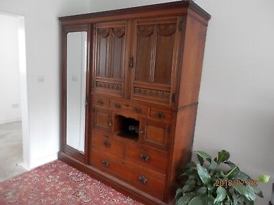 Victorian Compactum...lambs Of Manchester 1864.......walnut