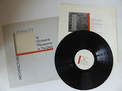 Orchestral Manoeuvres In The Dark Architecture & Morality Vinyl LP DID12 Diecut