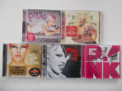 Pink - Greatest Hits...So Far! / Try This / Cant Take Me Home... 5 CDs, Sammlung