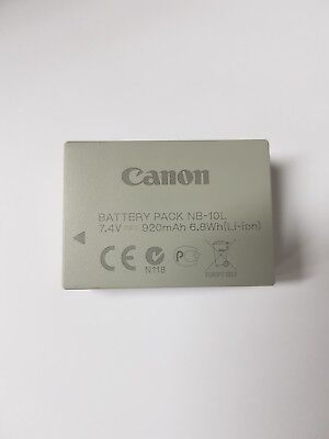 Genuine Canon NB-10L battery Used Tested Working
