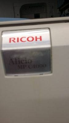 Ricoh Aficio MP C4000 Multifunction Color Copier Printer
