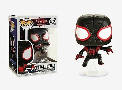 Funko Pop Spider-Man into the Spiderverse: Miles Morales Vinyl Bobble-Head 33977