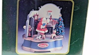 Coca Cola Musical Collection- Dear Santa Please Pause Here - 1993- NEW