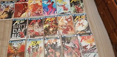 Flash rebirth 1 - 12 with 3 variant covers