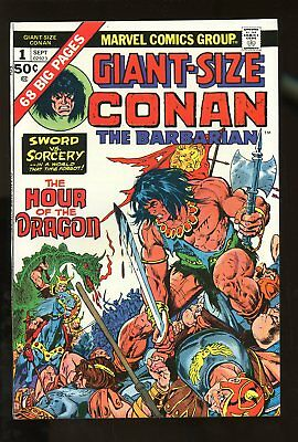 CONAN THE BARBARIAN #1 GIANT SIZE VERY FINE 8.0 1974 MARVEL COMICS #stp-132