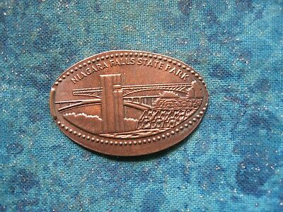 NIAGARA FALLS STATE PARK Elongated Penny Pressed Smashed 4