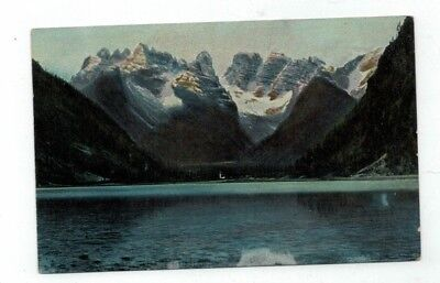 ITALY Durrensee antique post card beautiful view lake and mountains