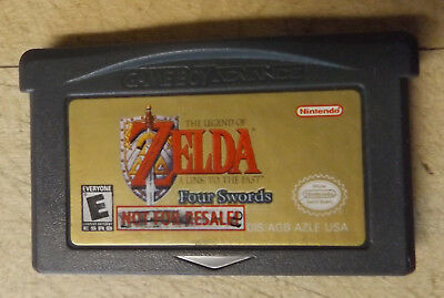 Legend of Zelda: A Link to the Past (Nintendo Game Boy Advance, 2002) (NFR)