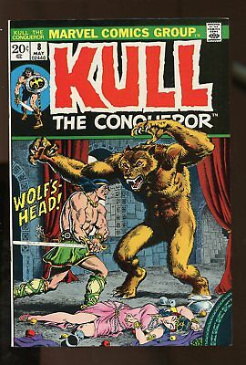 KULL THE CONQUEROR #8 VF/ NM 9.0 1973 MARVEL COMICS #stp-187