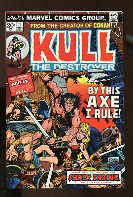 KULL THE CONQUEROR #11 NEAR MINT 9.4 1973 MARVEL COMICS #stp-190