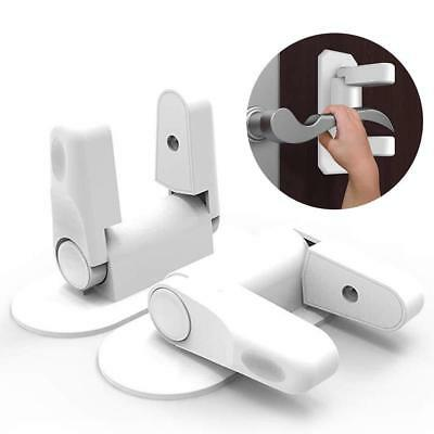 Baby Safety Lock, Child Proof Door Handle Lock Lever for Children with 3M...