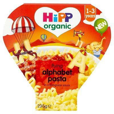 HiPP Organic Alphabet Pasta Shapes with Vegetables in Bolognese Sauce 230 g...
