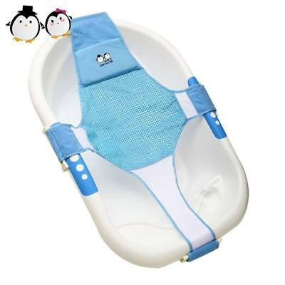 Newborn Baby Bath Net Support Seat Bathtub Sling Shower Mesh Bathing Cradle...