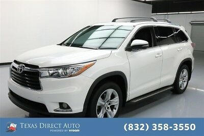 2015 Toyota Highlander Limited 4dr SUV Texas Direct Auto 2015 Limited 4dr SUV Used 3.5L V6 24V Automatic FWD SUV