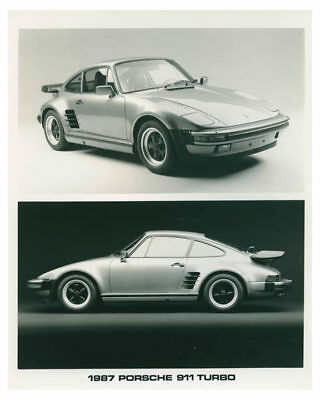 1987 Porsche 911 Turbo Automobile Factory Photo ch3722