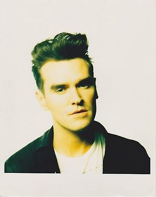 """MORRISSEY The Smiths ORIGINAL RUSSELL YOUNG Vintage Photograph 8"""" x 10"""" Superb!"""