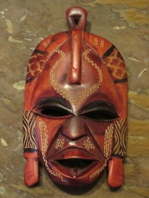 Small wooden tribal mask