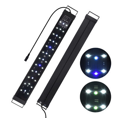 "24"" 36"" 48"" Multi-Color LED Aquarium Light Full Spec Aluminum Plant Fish Tank"