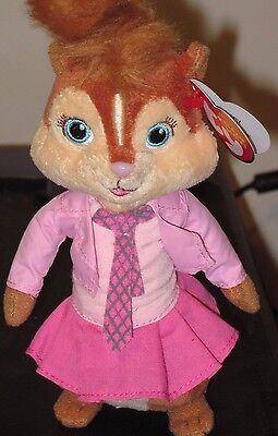 Ty Beanie Baby ~ BRITTANY (7 Inch)(Chipette from Alvin and the Chipmunks) MWMT