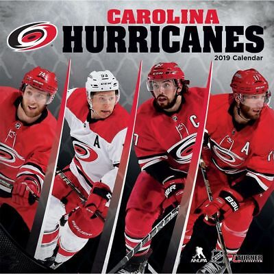 2019 Carolina Hurricanes Wall Calendar, Hockey by Turner Licensing