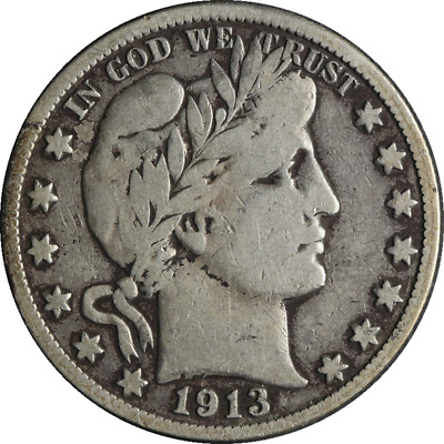 1913-S Barber Half Dollar Great Deals From The Executive Coin Company