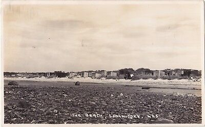 East Lothian postcard THE BEACH, LONGNIDDRY 1935
