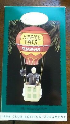 1996 The Wizard Of Oz, Hallmark Keepsake Ornament Collectors Series State Fair