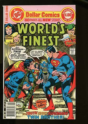 WORLD'S FINEST #246 VERY FINE 8.0 1977 DC COMICS #stp-1010